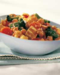 Vegan Curried Vegatables with Tofu