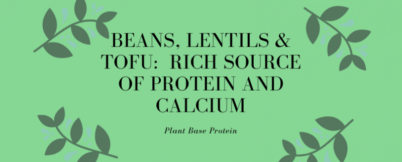 How to get protein and calcium from plants