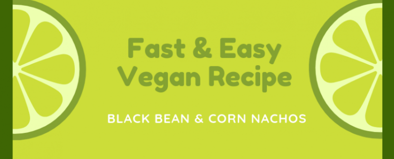 Easy Vegan Black Bean Nacos