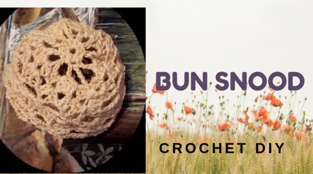 Easy and Quick to Crochet Bun Snood