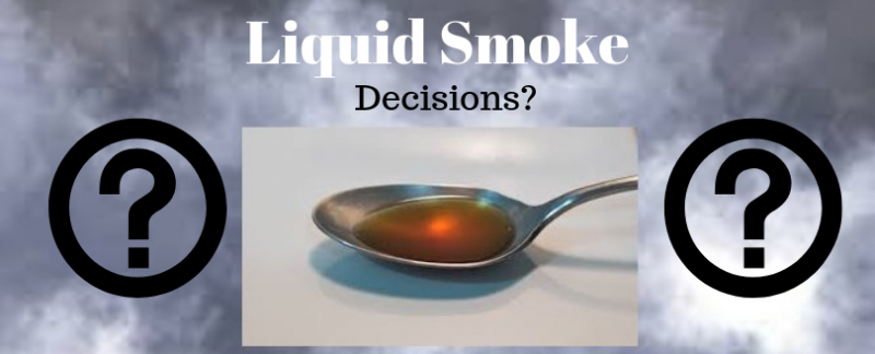Is liquid smoke safe to use?