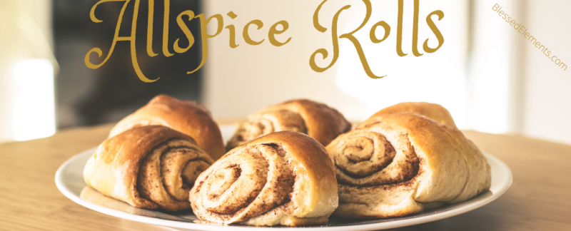 Allspice Graham Cracker Rolls